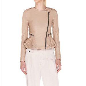 Marissa Webb Blush/Pink Nude Leather Jacket